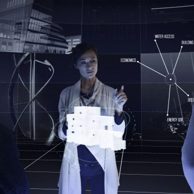Still image from the Autodesk Future of Making Things video. Image demonstrates how the next generation of digital technology will change the way things are designed and made.